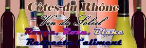 rouge rose blanc respecte l'aliment