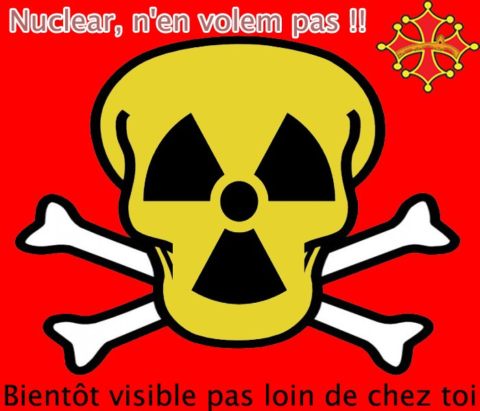 nuclear n'en volem pas - stop the nucleaire movement - stop the areva movement -